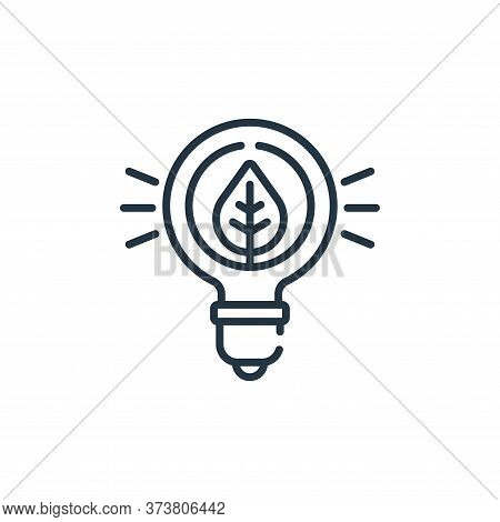 innovation icon isolated on white background from smart farm collection. innovation icon trendy and