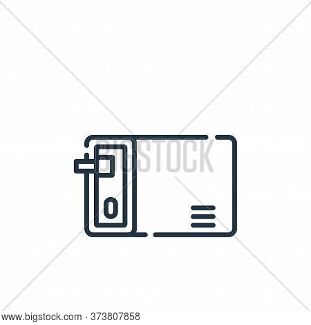 personal icon isolated on white background from database and servers collection. personal icon trend