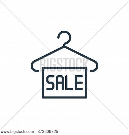 sale label icon isolated on white background from ecommerce collection. sale label icon trendy and m