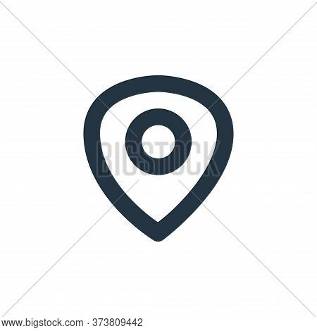 maps icon isolated on white background from user interface collection. maps icon trendy and modern m