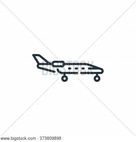 aircraft icon isolated on white background from fame collection. aircraft icon trendy and modern air