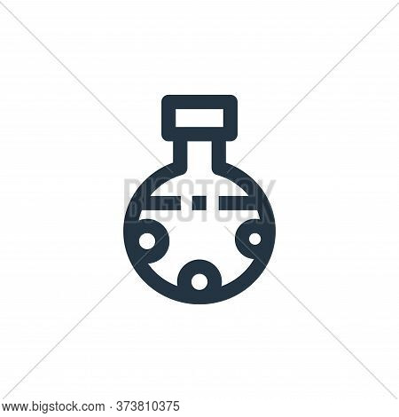 chemical icon isolated on white background from medical collection. chemical icon trendy and modern