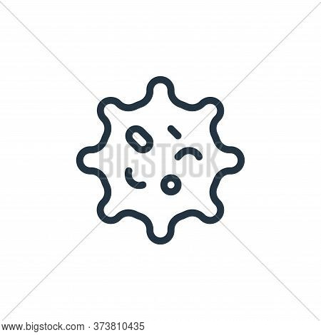 shape icon isolated on white background from coronavirus collection. shape icon trendy and modern sh