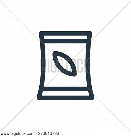 tree seed icon isolated on white background from landscaping equipment collection. tree seed icon tr