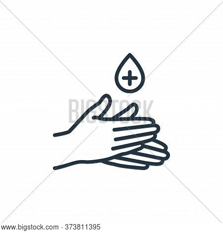 antiseptic icon isolated on white background from stop virus collection. antiseptic icon trendy and