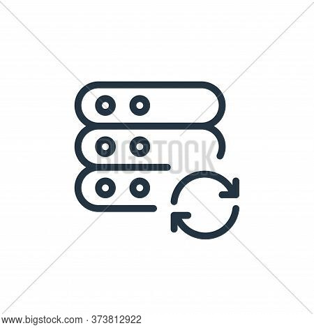 switch icon isolated on white background from work office server collection. switch icon trendy and