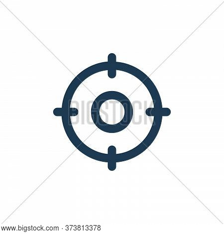 Focus Vector Icon From Business Collection Isolated On White Background