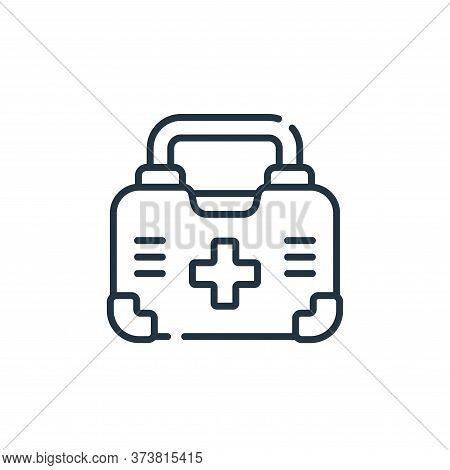 first aid kit icon isolated on white background from medical services collection. first aid kit icon