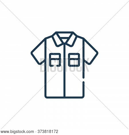 shirt icon isolated on white background from sewing collection. shirt icon trendy and modern shirt s