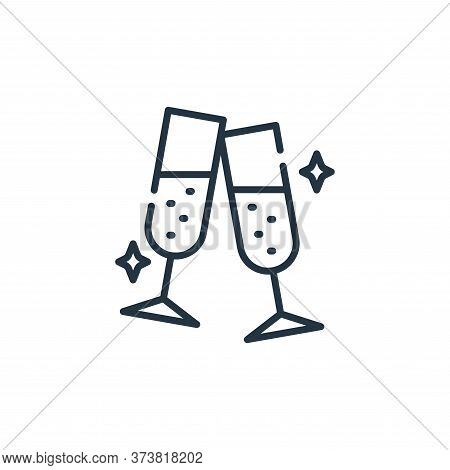 cheers icon isolated on white background from fame collection. cheers icon trendy and modern cheers
