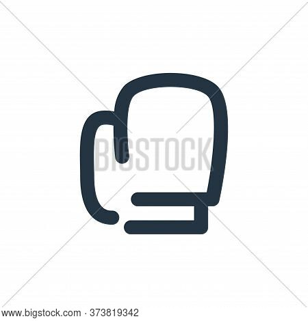 boxing icon isolated on white background from sport collection. boxing icon trendy and modern boxing