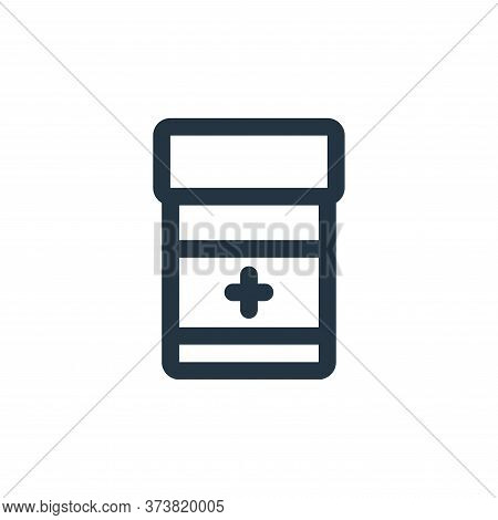 medicine icon isolated on white background from virus transmission collection. medicine icon trendy