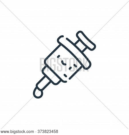 vaccine icon isolated on white background from medical services collection. vaccine icon trendy and