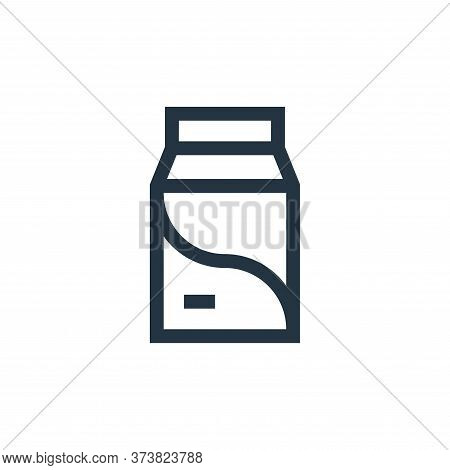 milk icon isolated on white background from pet shop collection. milk icon trendy and modern milk sy