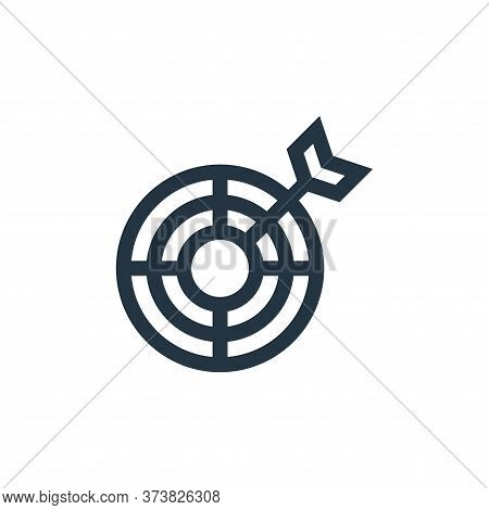 target icon isolated on white background from advertisement collection. target icon trendy and moder
