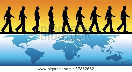 Walking Across The World