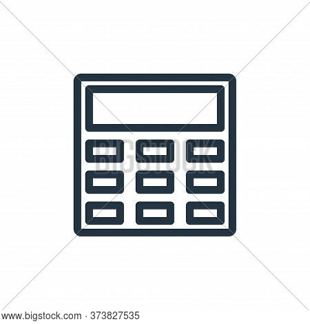 calculator icon isolated on white background from technology collection. calculator icon trendy and