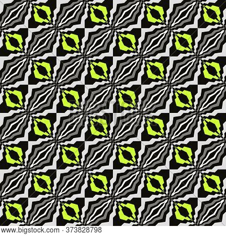 Bright Abstract Seamless Pattern For Fabrics And Wallpapers.