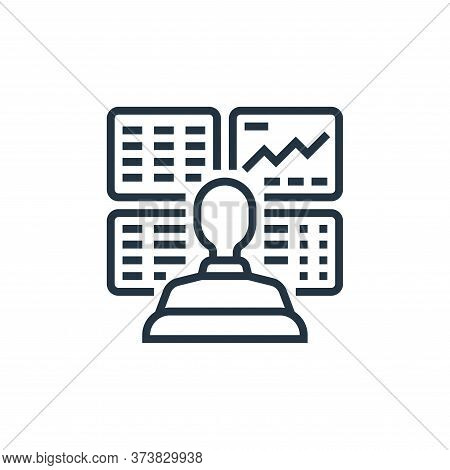 trader icon isolated on white background from economic crisis collection. trader icon trendy and mod