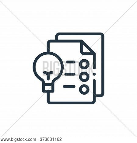 files icon isolated on white background from design thinking collection. files icon trendy and moder