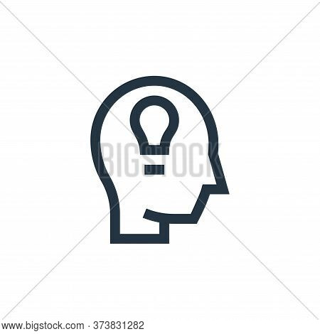 creative icon isolated on white background from management collection. creative icon trendy and mode