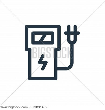 charging station icon isolated on white background from technology of the future collection. chargin