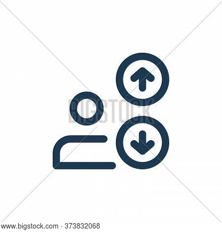 multi line icon isolated on white background from web apps seo collection. multi line icon trendy an