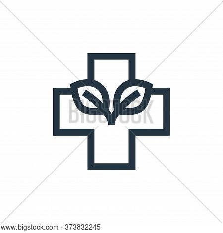 red cross icon isolated on white background from alternative medicine collection. red cross icon tre