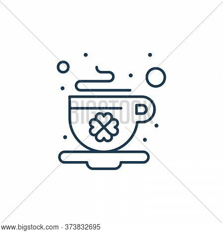 coffee icon isolated on white background from saint patrick collection. coffee icon trendy and moder