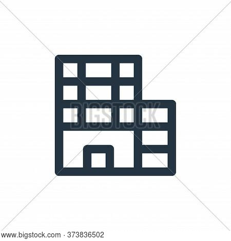 hotel icon isolated on white background from holiday collection. hotel icon trendy and modern hotel