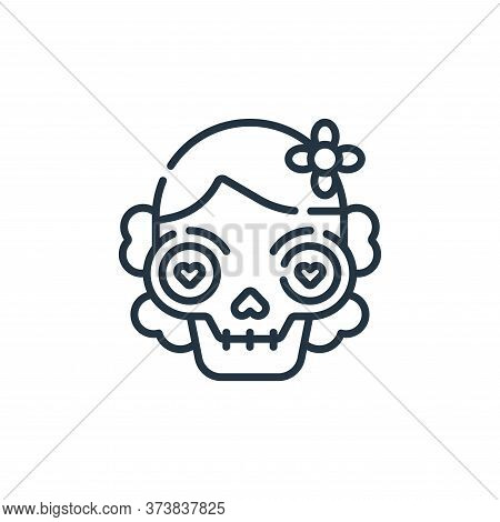 dia de muertos icon isolated on white background from mexico collection. dia de muertos icon trendy