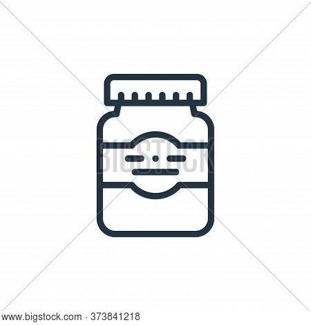 plastic bottle icon isolated on white background from plastic products collection. plastic bottle ic