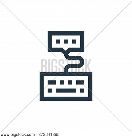 comment icon isolated on white background from feedback and testimonials collection. comment icon tr