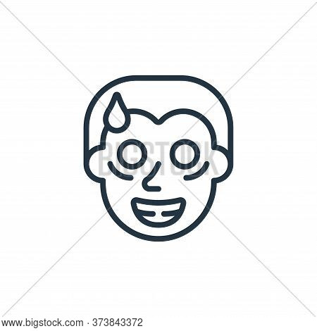 crazy icon isolated on white background from self isolation collection. crazy icon trendy and modern