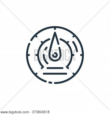 speedometer icon isolated on white background from startup collection. speedometer icon trendy and m