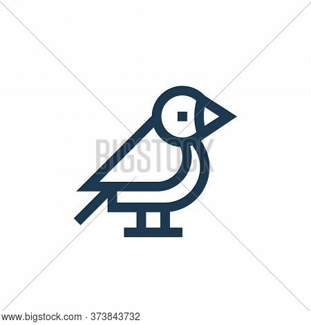bird icon isolated on white background from pet shop collection. bird icon trendy and modern bird sy