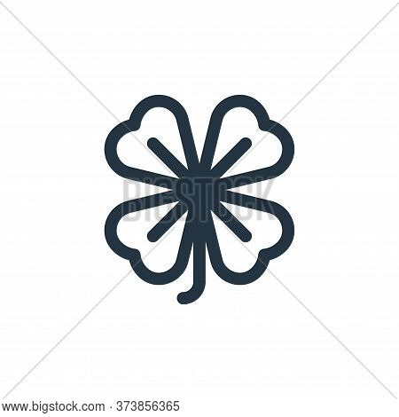 clover icon isolated on white background from england collection. clover icon trendy and modern clov