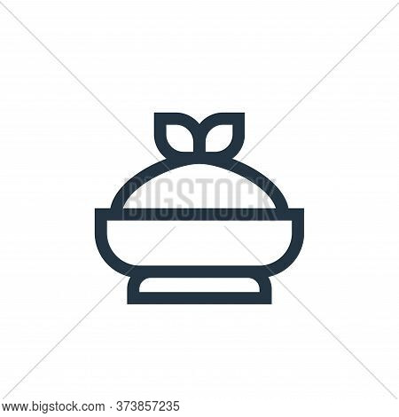 hummus icon isolated on white background from nutrition collection. hummus icon trendy and modern hu