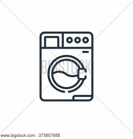 washing machine icon isolated on white background from sewing collection. washing machine icon trend