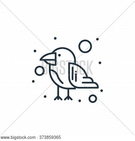 parrot icon isolated on white background from brazilian carnival collection. parrot icon trendy and