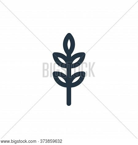 barley icon isolated on white background from landscaping equipment collection. barley icon trendy a