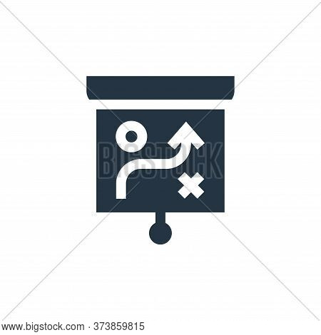strategy icon isolated on white background from advertisement collection. strategy icon trendy and m