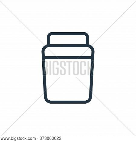 container icon isolated on white background from work office supply collection. container icon trend