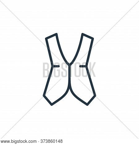 vest icon isolated on white background from wardrobe collection. vest icon trendy and modern vest sy