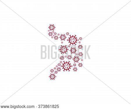 Stomach Virus Logo Vector Template, Creative Stomach Logo Design Concepts