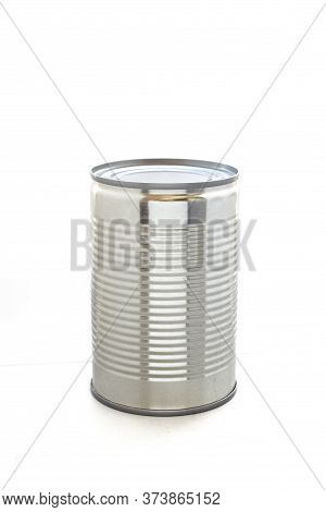 The Can Isolated On A White Background