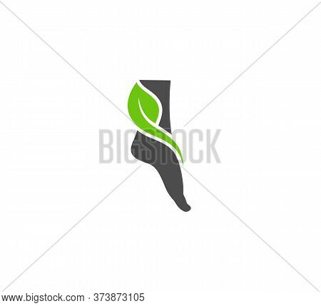 Nature Foot Logo Vector Template, Creative Of Foot Logo Design Concepts