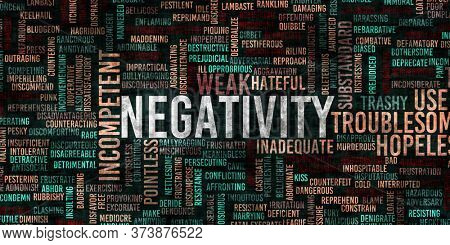 Negativity and Negative Mindset as an Abstract Background