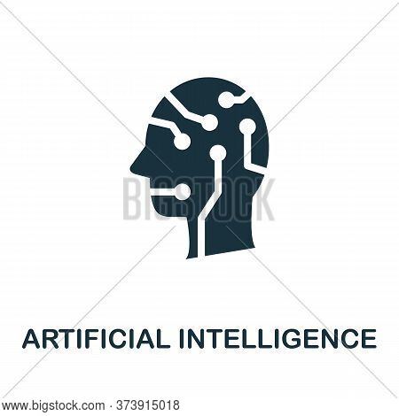 Artificial Intelligence Icon. Creative Simple Design From Artificial Intelligence Icons Collection.
