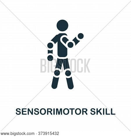 Sensorimotor Skill Icon. Creative Simple Design From Artificial Intelligence Icons Collection. Fille